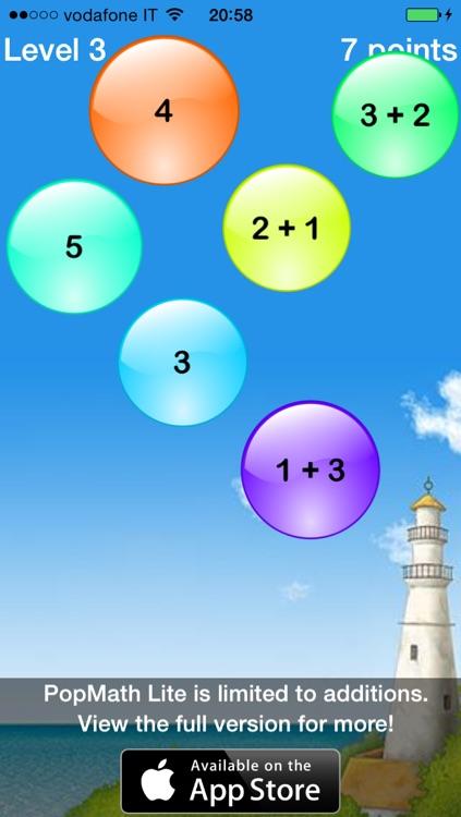 Pop Math Lite screenshot-3