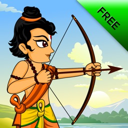 The Little Indian Archer Free - Bow and Arrow Archery game