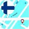 フィンランド オフライン地図