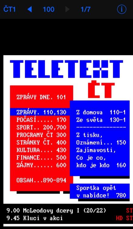 Teletext - TextTV
