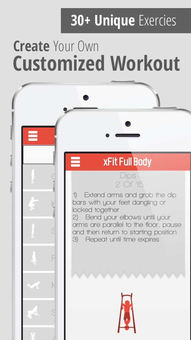 xFit Full Body – Fat Burning Workout and Muscle Building Exercise Routine screenshot three