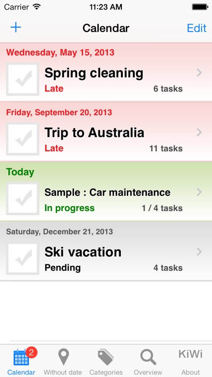 Check List Pro, Advanced Task Reminder & Checklists screenshot-0