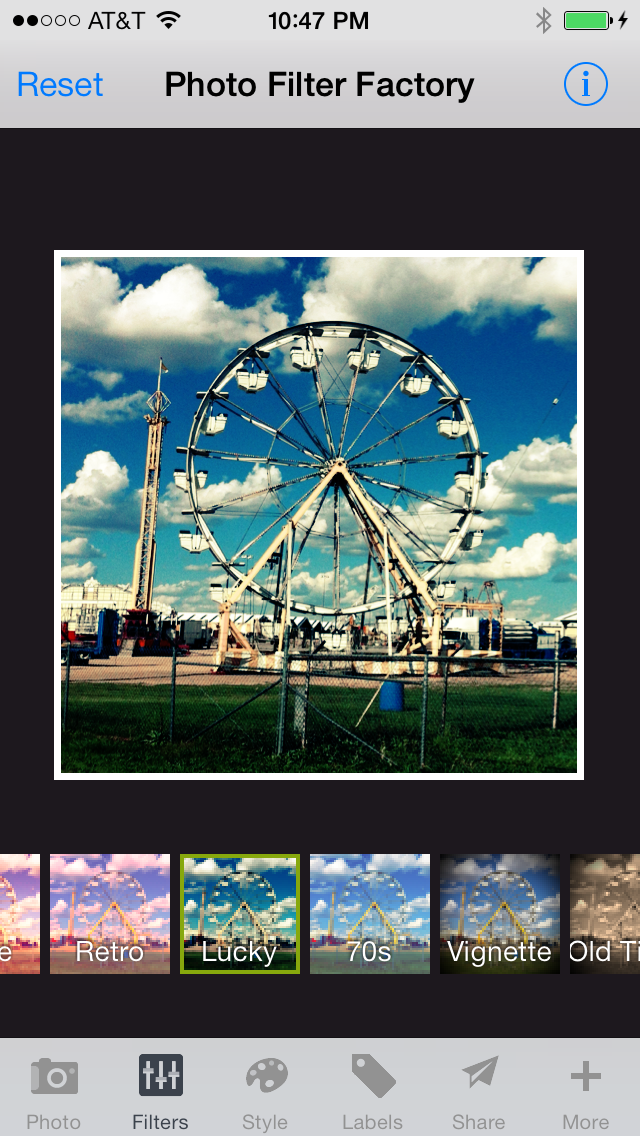 Photo Filter Factory - Vintage Camera + Lens FX + Picture Frame Border + Caption and Pic Editor for Instagram FREE screenshot one