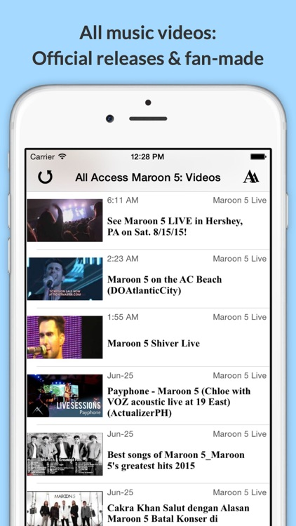 All Access: Maroon 5 Edition - Music, Videos, Social, Photos, News & More!