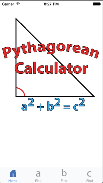 Pythagorean Calculator