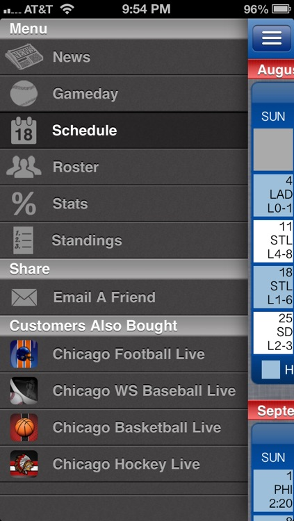 Chicago C Baseball Live