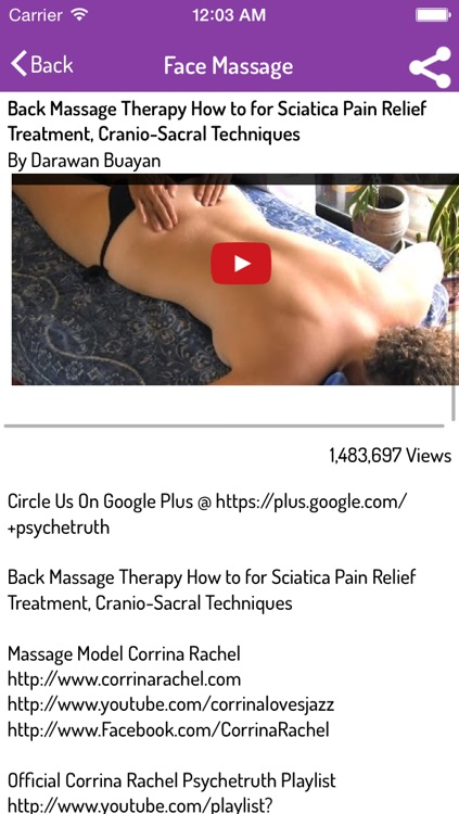 Massage Techniques - Complete Video Guide screenshot-3