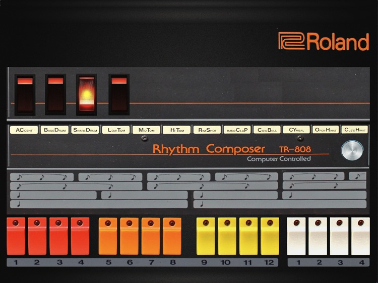 Roland 808 for iPad