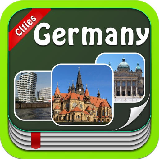 Germany Vacation - Offline Map City Travel Guides - All in One