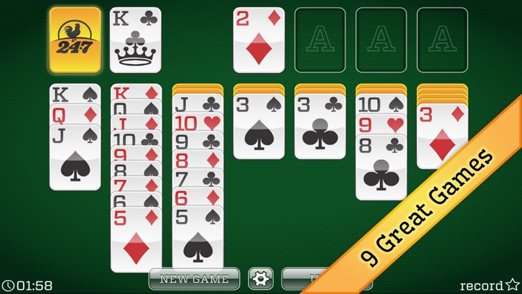 FREE Solitaire 24/7 by 24/7 Games LLC