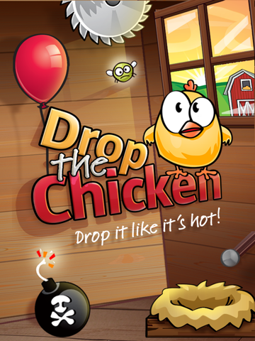 Drop The Chicken на iPad