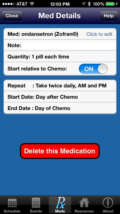 Chemo Aid screenshot-3