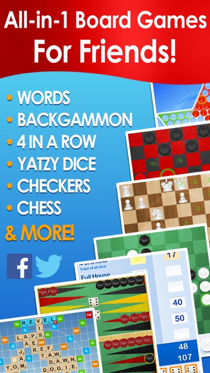 Your Move Board Games ~ play free online Chess, Checkers, Dice, Words & Backgammon with family & friends