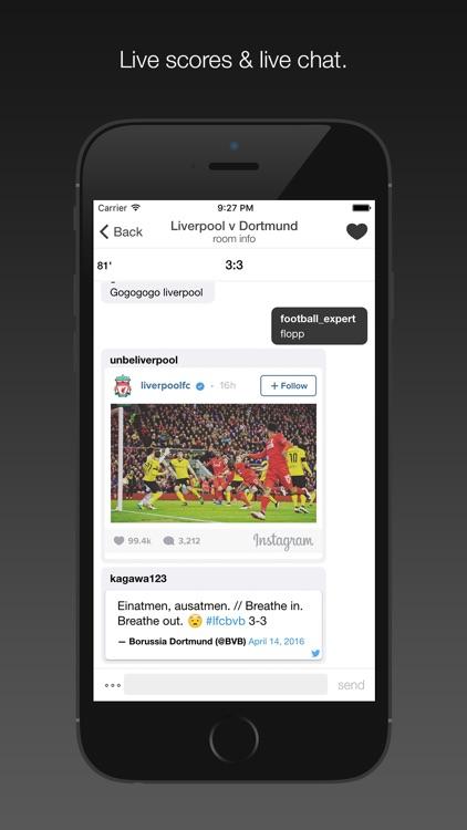 Fanschat   Football/Soccer Live Scores U0026 Live Chat