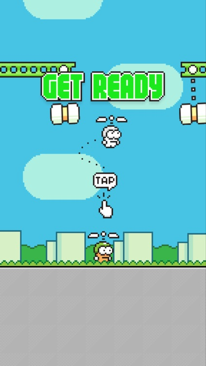 Swing Copters screenshot-1