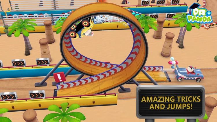 Dr. Panda Racers screenshot-2