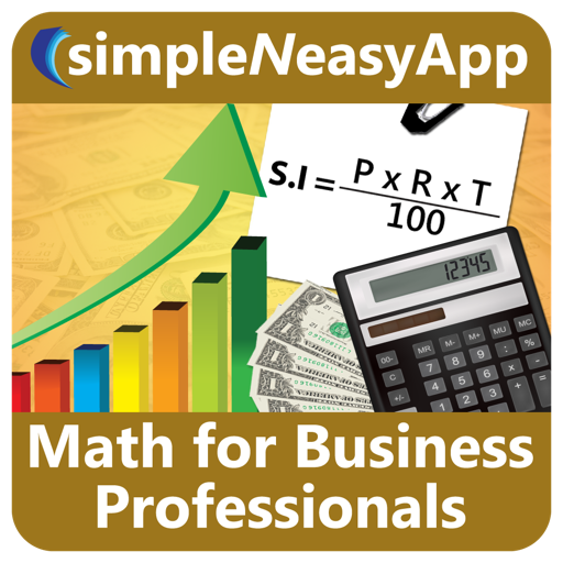 Math for Business Professionals - A simpleNeasyApp by WAGmob