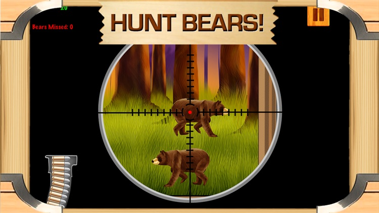 Awesome Bear Hunter Shooting Game With Cool Sniper Hunting Games For Boys FREE