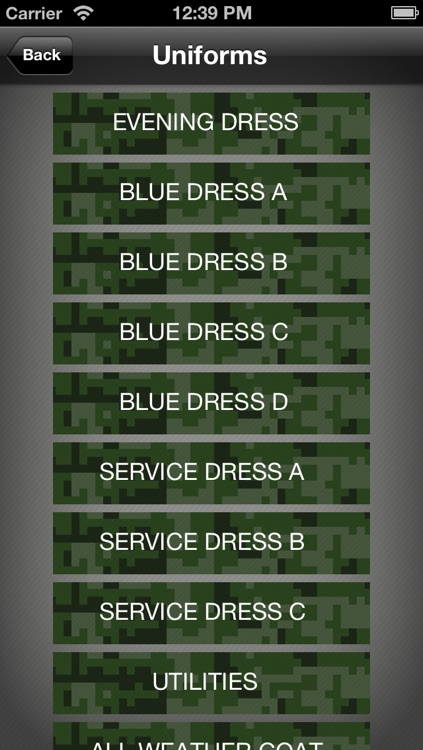 Uniform Guide Marine Corps screenshot-2