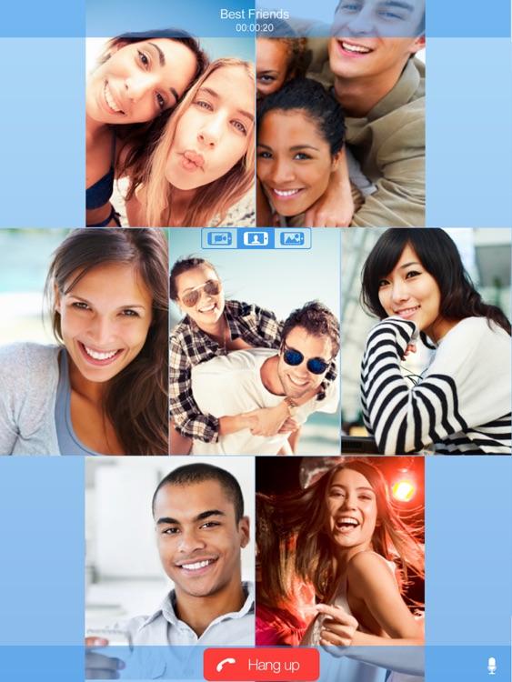 FriendCaller HD Video Chat screenshot-3