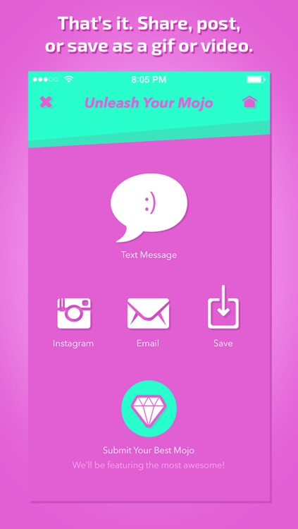 GiFmojo - Automatically turn the photos in your camera roll into funny animated gifs and videos screenshot-3