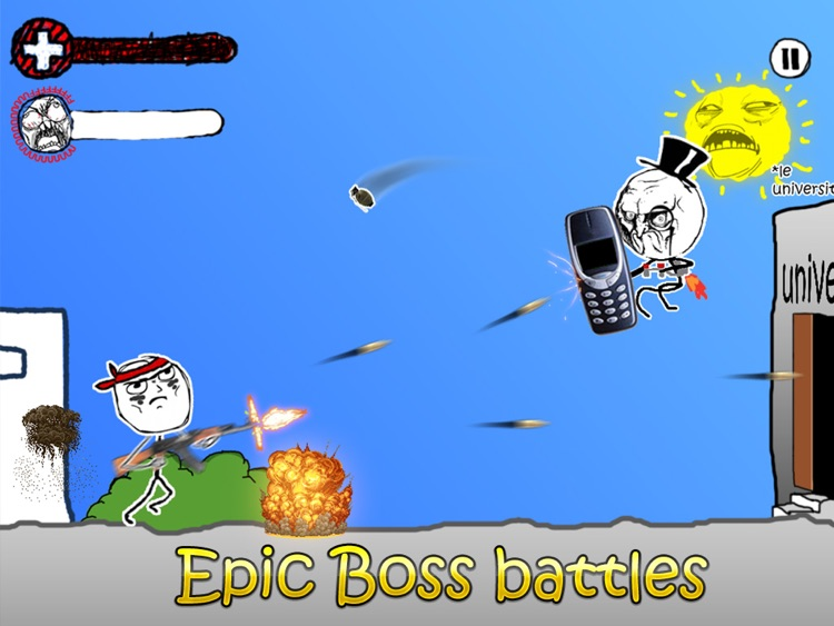 Rage Wars HD - Meme Shooter screenshot-3