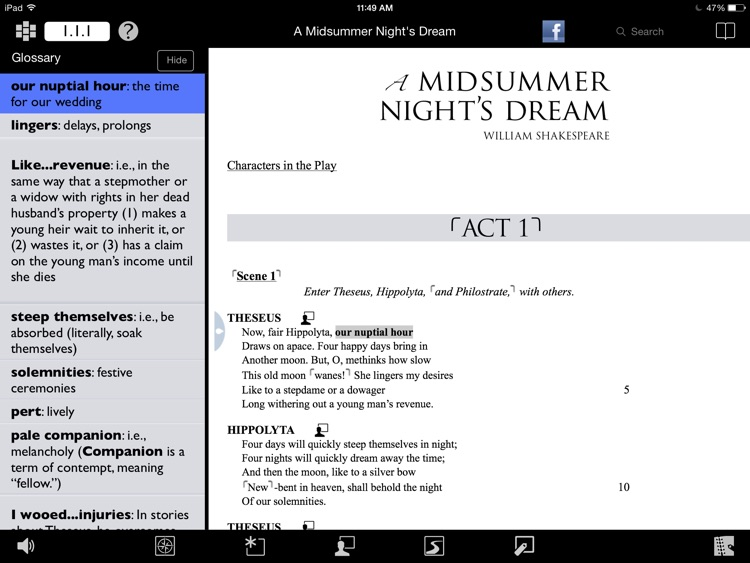 A Midsummer Night's Dream: Folger Luminary Shakespeare