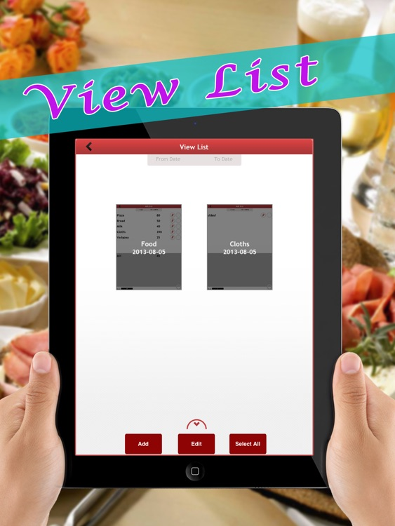 Shopping Checklist - Task list + Password protected personal information data vault manager free