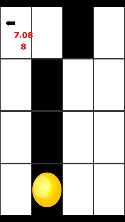 A Awesome Balls Bouncing in White Tiles - Don't Step Ball to White Piano Key Tile screenshot-3