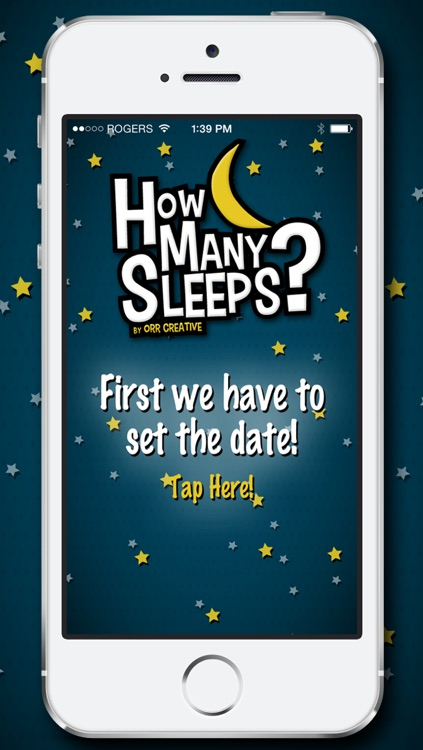 How Many Sleeps? Countdown to your Wedding, Vacation, Birthday, or Party!