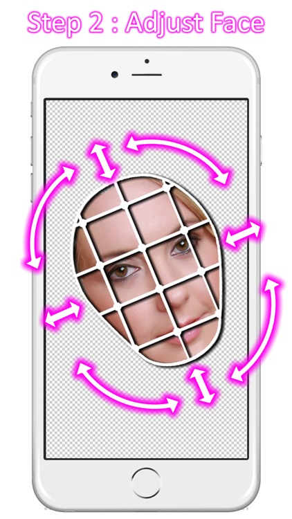 Copy paste face - photo editor