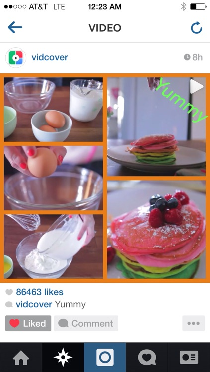 VidCover - collage cover frame to summarize your video on Instagram screenshot-4