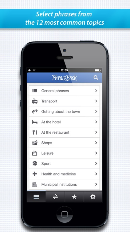Lingvo PhraseBooks : Spanish, German, Italian, French, English and Russian phrasebook screenshot-3