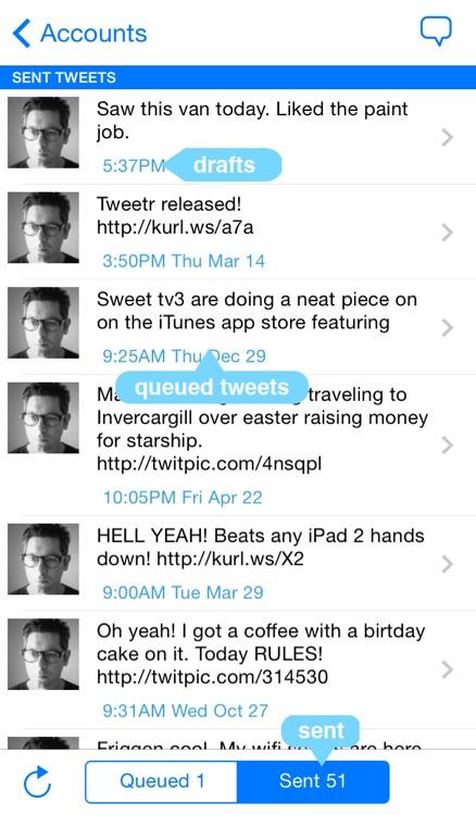 Tweetr - Schedule tweets for Twitter - Your Social Media Management Tool