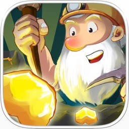 Gold Miner 2016—Classic Gems Craft Rush & Shape Clicker Games(2 Player + Free)