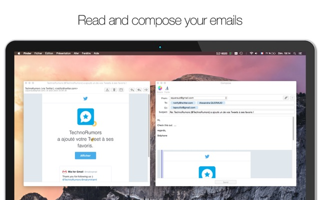 Mia for Gmail on the Mac App Store