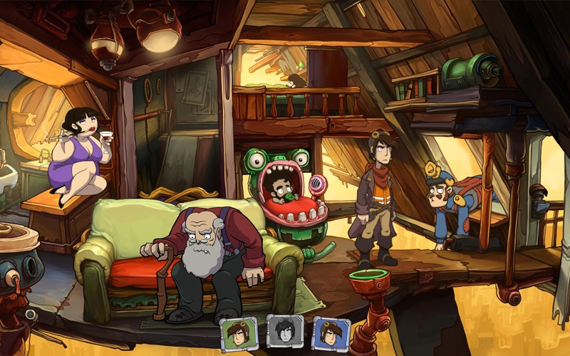 Goodbye Deponia Screenshot