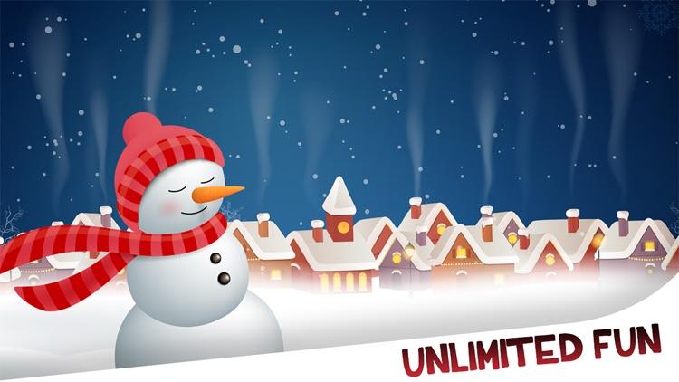 Christmas Snowman Maker screenshot-4