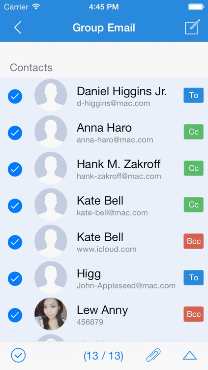 Group Text Pro - Send SMS,iMessage & Email quickly