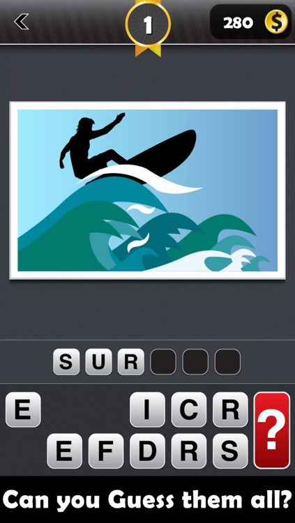 Shadow Mania - (Guess the Shadows and Shapes Icon Trivia Pop Quiz Word Game!) Free screenshot-1