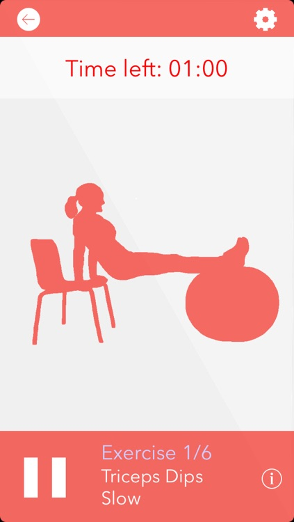 Gym Ball 10 Min Full Body Workout - daily fitness exercise home program and workout trainer, Pilates and Calisthenics routine just for women