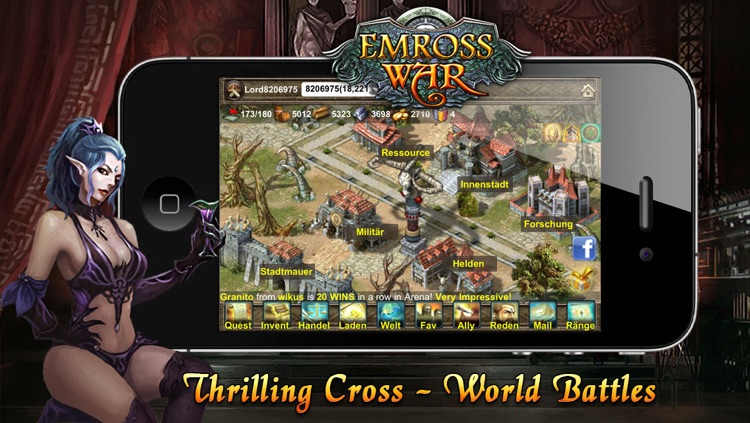 Emross War screenshot-4