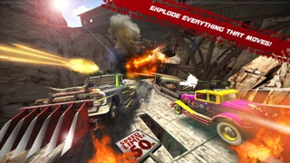 Death Tour - Racing Action 3D Game with Awesome Hot Sport Classic Cars and Epic Gunsのおすすめ画像2