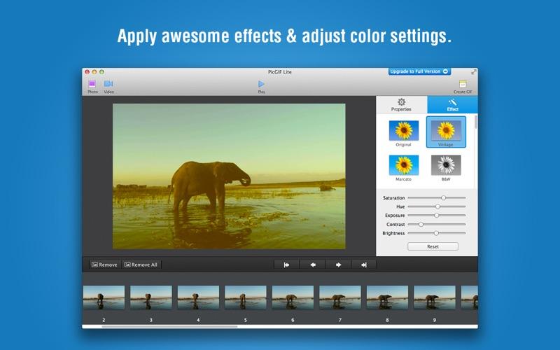 PicGIF Lite Screenshot