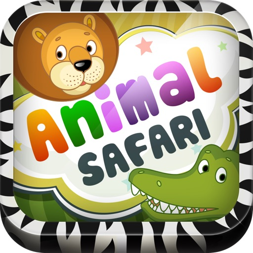 Preschool Animal Safari Free - 3 In 1 Amazing Logic Learning Game For Toddler & Kid To Learn Names And Sounds Of Wild Animals By ABC Baby icon