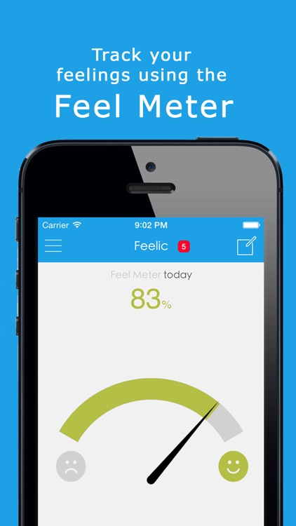 Feelic - Mood Tracker, Share, Text & Chat with Friends screenshot-3