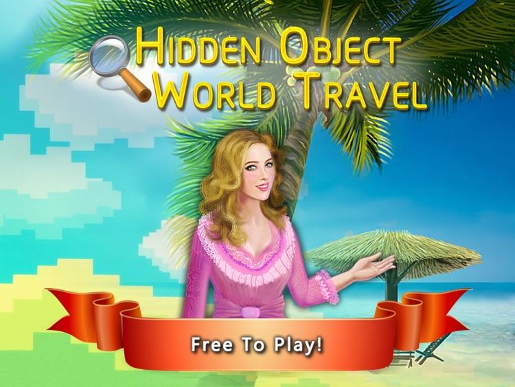 Hidden Object World Travel FREE screenshot-4