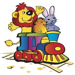 Kids Train Puzzles HD