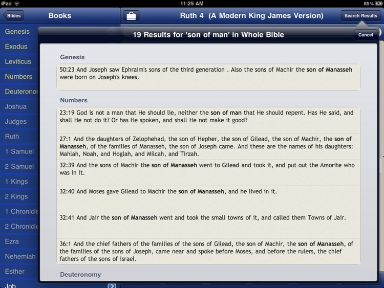 65 Bibles and Commentaries with Bible Study Tools screenshot-4