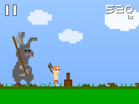 Screenshot #1 for Super Lumberjack